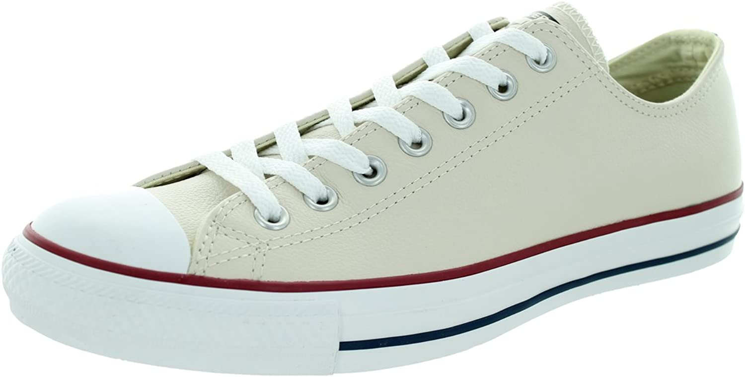 CONVERSE mens CHUCK TAYLOR ALL STAR SEAS LEA White   Broken Low top trainers 8