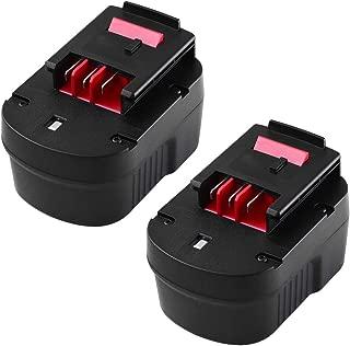2 Pack 12V 3000mAh HPB12 Replacement Battery for Black and Decker 12 Volt Battery Firestorm HPB12 FS120B FSB12 A1712 A12 A12-XJ A12EX FS120B FSB12 Cordless Drill