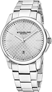 Stuhrling Original Watch for Men - Stainless Steel, 3970.3