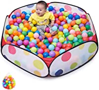 Baby Fence, Baby Ocean Ball Pool Toy, Indoor Outside Bar Children's Tent 0-2-3 Years Old Baby (Send 100 Marine Balls)
