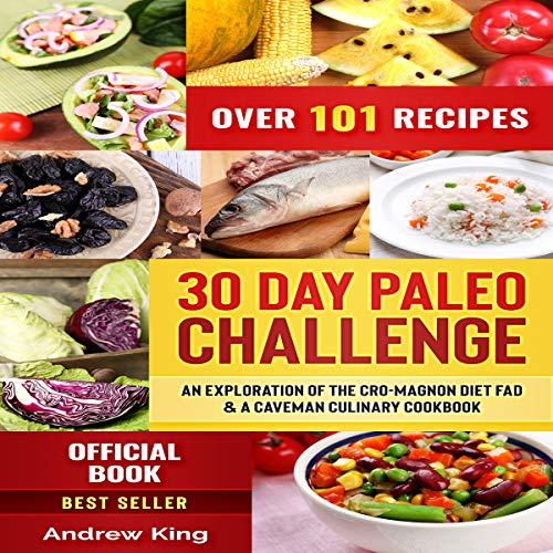 30 Day Paleo Challenge cover art