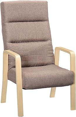 タマリビング(Tamaliving) コザト 高座椅子 リクライニグチェア ブラウン 50001964