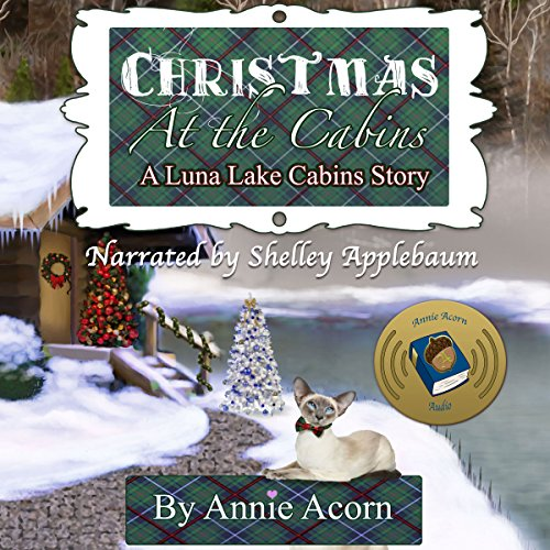 Christmas at the Cabins audiobook cover art