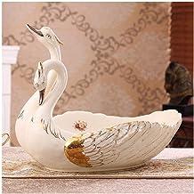 Grote Europese fruitschaal woonkamer salontafel decoratie keramische zwaan fruitschaal geschenk