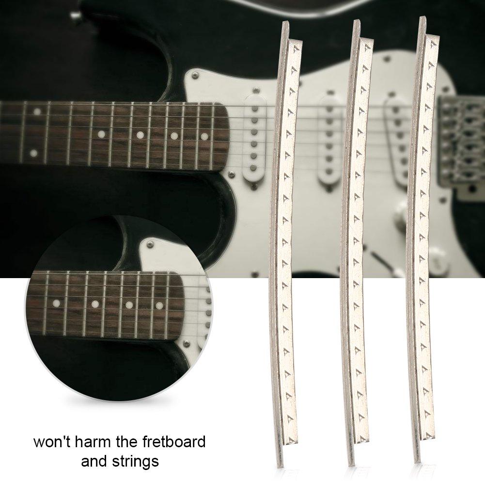Dilwe 24Pcs Guitarra Estándar Fret Wire Guitarra FretWire 2.2mm de ...