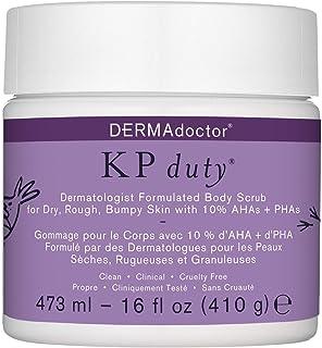 DERMAdoctor Kp Duty Body Scrub 16 Fl Oz 16 Ounce
