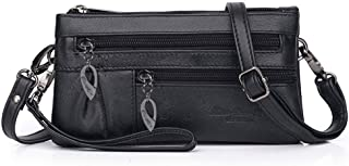 Small Crossbody Phone Purse Women Shoulder Bag Leather Wristlet Wallet