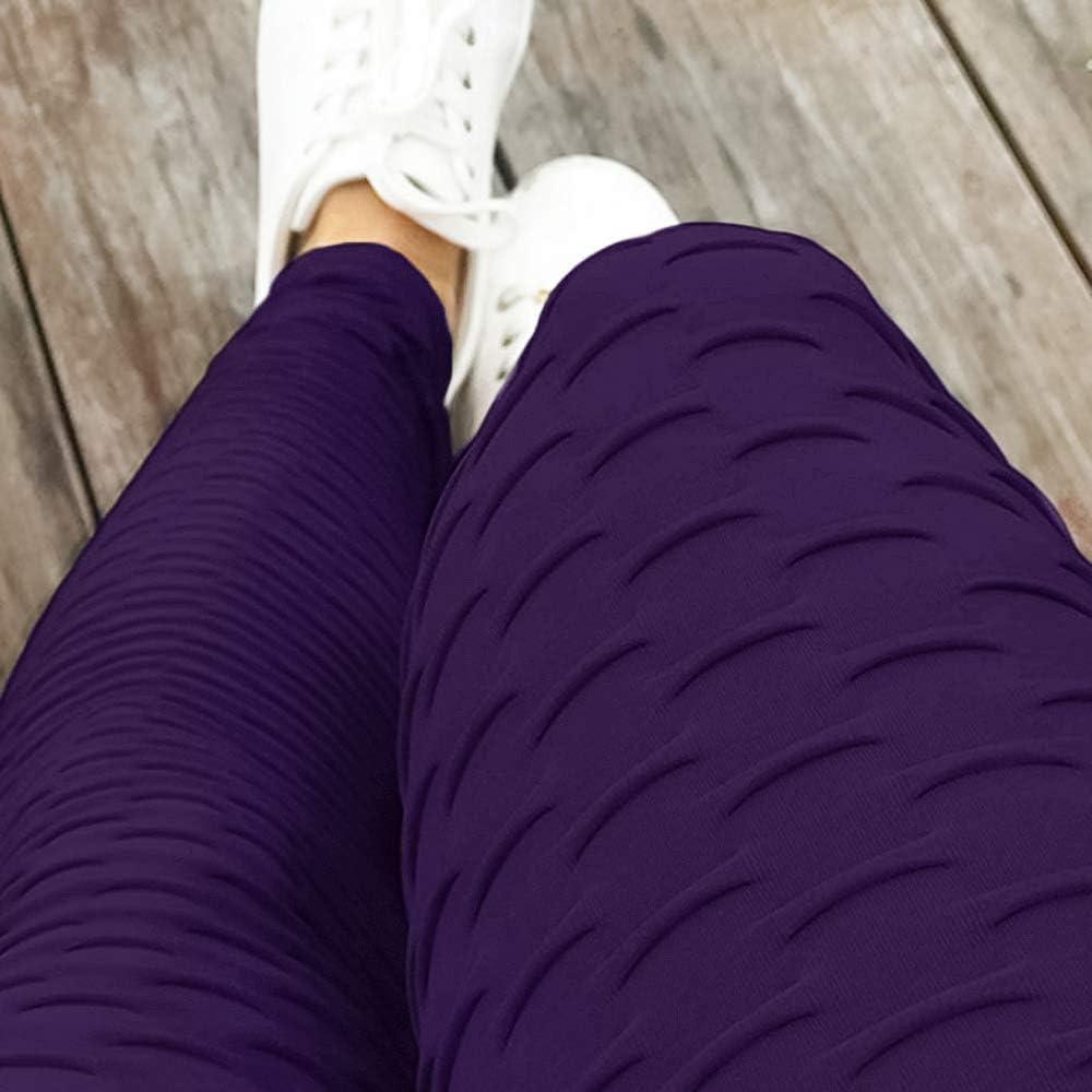 C//N Damen High Waist Leggings Blickdichte Sporthosen Fitness Lange Yogahose Frauen Fitnesshose Jogginghose RC-01