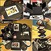 Überraschung Box, Komake Explosion Box, DIY Geschenk Scrapbook und Foto-Album für Weihnachten/Valentine/Jahrestag/Geburtstag/Hochzeit (Schwarz) #4