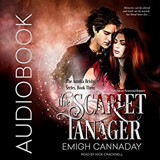 The Scarlet Tanager audiobook cover art