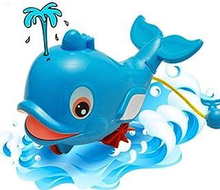Anniston Kids Toys, Children Kids Bath Shower Clockwork Squirt Dolphin Bathtub Swimming Water Toy Classic Toys for Childre...