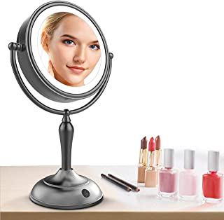 Best lighted makeup mirror 10x magnification Reviews