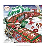 The Elf on the Shelf North Pole Advent Train | Best Advent Calendar for Family Fun 2020 | Suitable Toy for Boys And Girls | Elf on The Shelf Accessories | Elf on The Shelf Advent Calendar