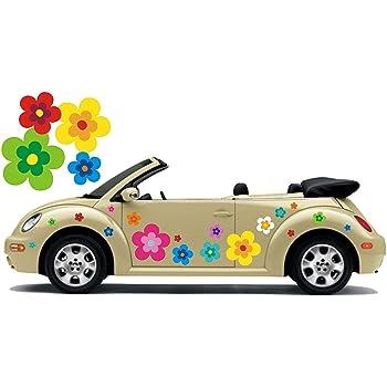 easydruck24de Aufkleber Set Blumen Bl/ümchen grau I Flower-Power Sticker f/ür Roller Fahrrad Notebook Laptop Handy Auto-Aufkleber I wetterfest I kfz/_244