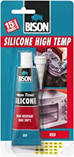 Bison Silicone High Temp Red 60ml 6305453