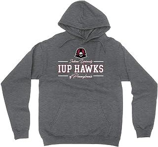 Official NCAA Indiana University Pennsylvania Hawks - AA00026 Mens/Womens Boyfriend Hoodie