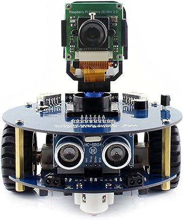 @WENDi AlphaBot2 Robot Building Kit for Raspberry Pi Zero W, with Controller Raspberry Pi Zero W, AlphaBot2-Base, RPi Camera (B) etc. - Trova i prezzi più bassi
