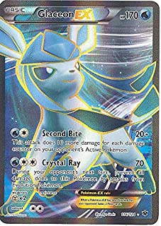 Pokemon - Glaceon-EX (116/124) - XY Fates Collide - Holo