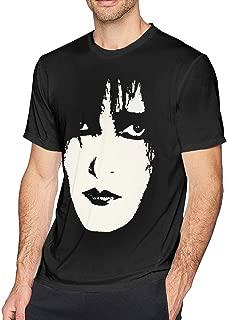 Mens Fashion Siouxsie Tshirt Black