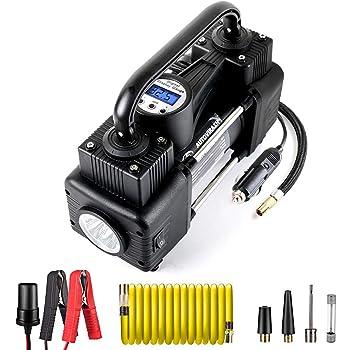 Air Compressor Heavy Duty 12V 140 PSI Pump Tire Inflator Car Tool Inflatable Pum