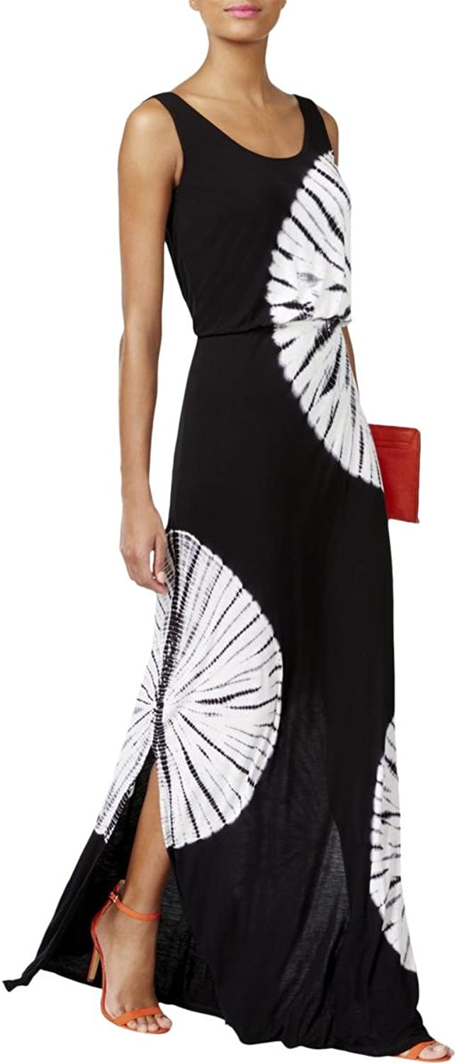 INC International Concepts TieDyed Maxi Dress (Day Dream Tie Dye, M)