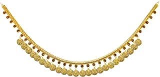 Fresh Vibes Traditional Indian Golden Coins Temple Design Kamarband for Women - Fancy & Stylish Wedding Wear Hanging Coins...
