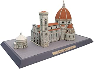 HugeHug World Famous Building Christian Church Assembly 3D Puzzle Paper Model - Castle Tower