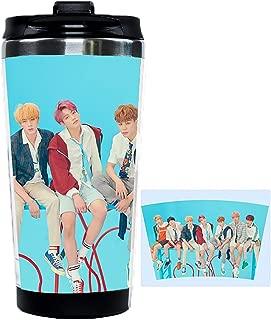 JUNG KOOK Kpop BTS Love Yourself Double Coffee Cup SUGA Jimin Camping Water Bottle Mondri
