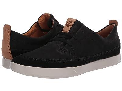 ECCO Cathum Leisure Sneaker (Black/Black/Lion) Men