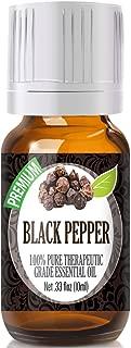 Black Pepper Essential Oil - 100% Pure Therapeutic Grade Black Pepper Oil - 10ml