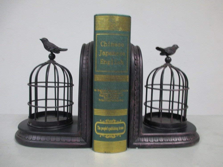 Bücherregal kreative Buchstützen Harz Handwerk Haushalt Dekoration Studie Buch-schwarz für ein Geschenk (Farbe   schwarz) B07PP4Y236   Hochwertige Materialien