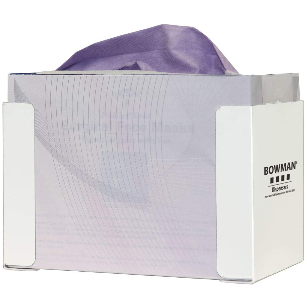 Face Mask Dispenser - Tie Holds one Sets of Mail order Fashionable Box Masks Two tie