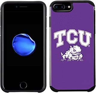 Prime Brands Group Textured Team Color Cell Phone Case for Apple iPhone 8 Plus/7 Plus/6S Plus/6 Plus - NCAA Licensed Texas...