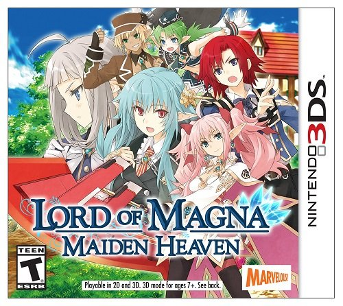 Lord Super intense SALE of Magna: Maiden Heaven Nintendo New popularity - 3DS
