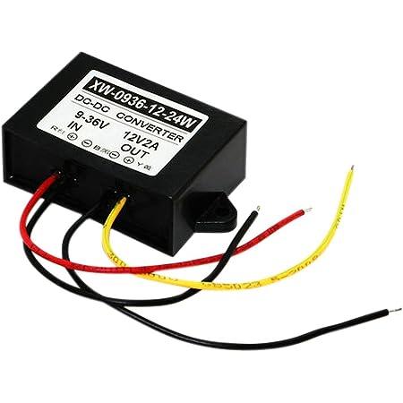 Blackr Dc 9v 36v To 12v 2a 24w Dc Step Up Down Power Supply Converter Adapter Regulator Auto