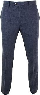 navy tweed trousers
