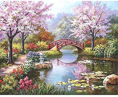 Paint by Numbers for Adult, DIY Canvas Oil Painting Kit for Kid with...