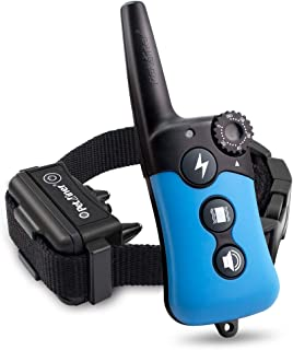 Best Petrainer Dog Training Collar Rechargeable and Rainproof 330 yd Remote Dog Training Collar with Beep, Vibra and Static Electronic Collar… Review