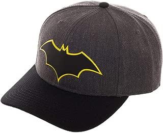 DC Comics Men's Batman Rebirth Curved Bill Snapback Baseball Cap
