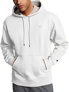 Champion Men's Powerblend Pullover Hoodie, Medium, White
