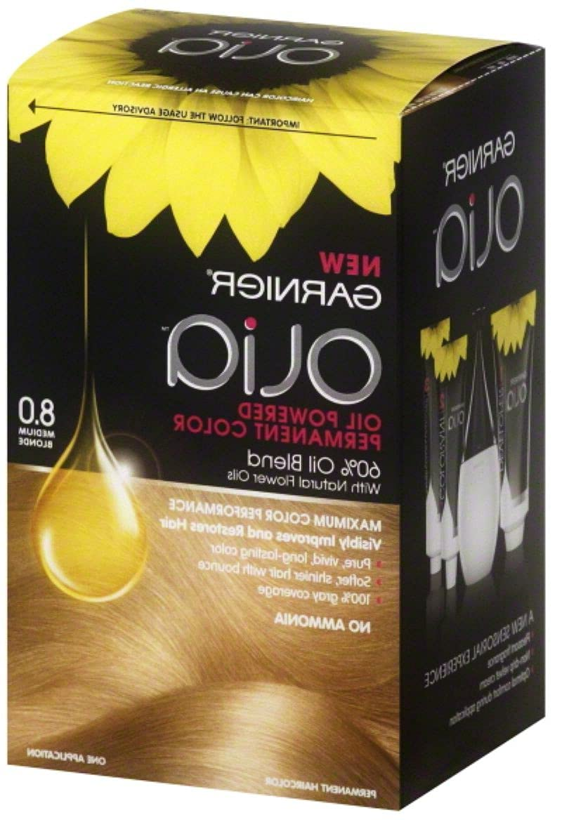Ula-style Olia Oil Max 55% OFF Challenge the lowest price of Japan ☆ Powered Permanent Color Blonde 1 8.0 E Medium