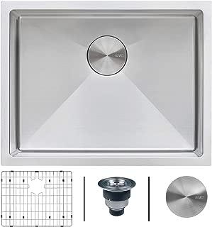 Ruvati 21-inch Undermount Tight Radius 16 Gauge Stainless Steel Bar Prep Kitchen Sink Single Bowl - RVH7121
