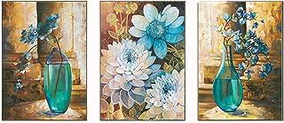 Proumhang Kreuzstich Stickpackung Stickbild Stickvorlage120cm56cm dreifache Bemalung der reichen Vase