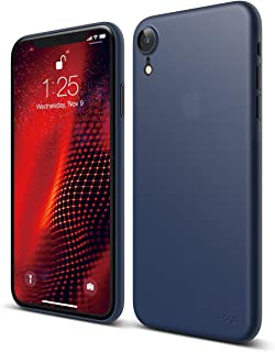 elago Inner Core Series iPhone XR case [Jean Indigo] – [Thinnest Lightest][Support Wireless Charging][Only Protects Against Scratches] Compatible iPhone XR (2018)
