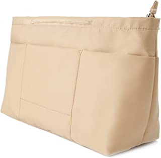 BES CHAN Womens Purse Handbag Bag Organizer Insert with Handles,Medium,Large