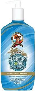 Australian Gold Moist Lock Tan Extender 16 Ounce Pump (473ml) (6 Pack)