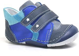 b5cea50d380b8 Gri Hakiki Deri Ortopedik Mevsimlik Erkek Bebek Ayakkabı