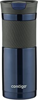 Contigo 康迪克 Byron 真空绝缘不锈钢旅行杯,20盎司(约568ml),摩纳哥