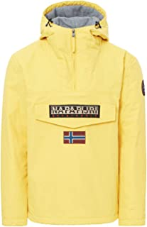 Napapijri Men's Rainforest Winter Jacket, Yellow (Spark Yellow Y36), Small