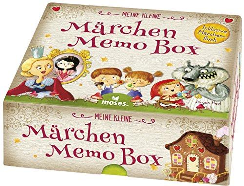 moses. 90271 Meine kleine Märchen Memo Box | Das besondere MemoSpiel